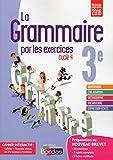 La grammaire par les exercices 3e - Cahier de l'élève + licence élève 1 an sur viascola - Nouveau programme 2016
