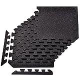 Yes4All Interlocking Rubber Floor Tiles