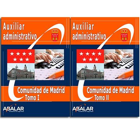 Auxiliar Administrativo Comunidad de Madrid - Temario Completo + Exámenes (Julio 2020) - 2 tomos