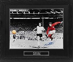 Allstarsignings Oprawione zdjęcie Sir Geoff Hurst z podpisaną Anglią 16 x 20 z COA i dowodem.