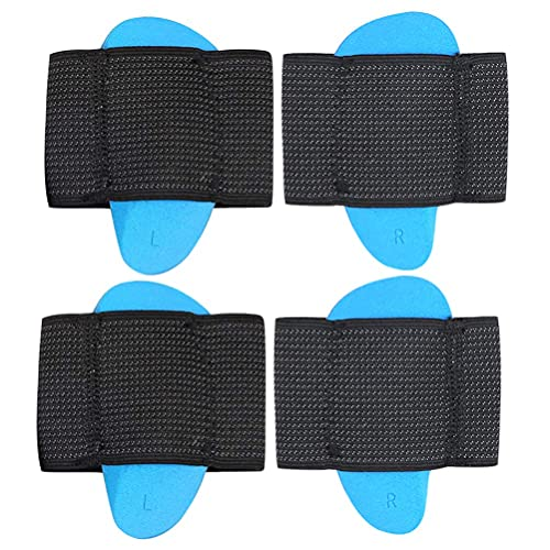 LIXBD 2 Pairs Arch Support Compression Fasciitis Cushioned Support Sleeves Fasciitis Foot Relief Cushions for Plantar Fasciitis Fallen Arches Achy Feet