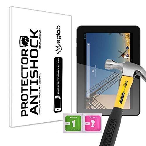 Protector de Pantalla Anti-Shock Anti-Golpe Anti-arañazos Compatible con Tablet bq Edison 2 Quad Core