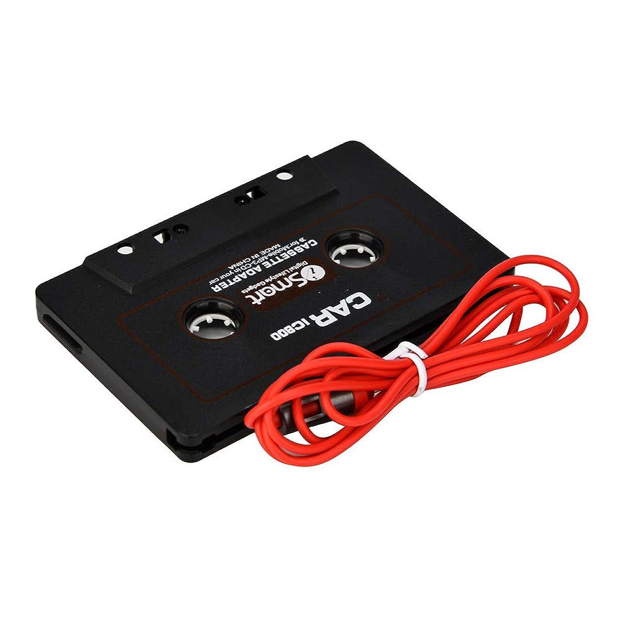 狭いヒョウ談話ポータブル 車 自動車 IC800 カセットカセットテープ 3.5mm AUXオーディオアダプター MP3/MP4 CD iPod/iPhone カーオーディオ ミニディスクプレーヤー用