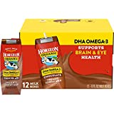 Horizon Organic Shelf-Stable 1% Lowfat Milk Boxes with DHA Omega-3, Chocolate, 8 oz., 12 Pack