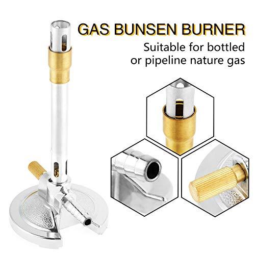 Metal Materials Firm Gas Bunsenbrenner, langlebiger hitzebeständiger Bunsenbrenner, Micro Pipeline Nature Gas