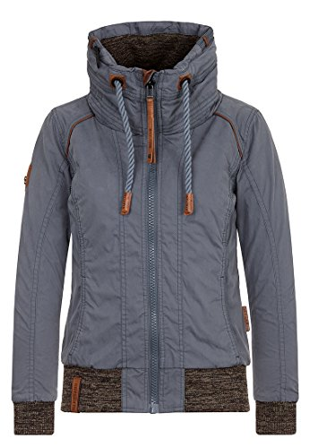 Naketano Female Jacket Du muss straff Sein, Steel, S