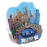 D DOLITY Resina 3D Atracciones Mundiales Imanes de Nevera Colección de Recuerdos Turísticos Regalos para Familiares - Venecia