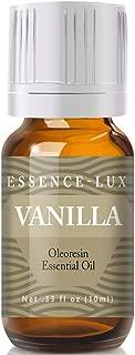 Vanilla Essential Oil - Pure & Natural Therapeutic Grade Essential Oil - 10ml