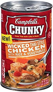 Campbell's Chunky Soup, Wicked Thai‑style Chicken (Pack of 3)