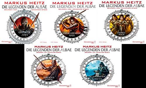 Die Legenden der Albae 5 Hörbücher im Set + 1 exklusives Postkartenset