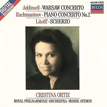 Rachmaninov: Piano Concerto No. 2/Addinsell: Warsaw Concerto/Litolff: Scherzo