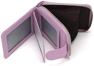 KUCHEQICHE Women's Wallet,Credit Card Wallet Leather RFID Wallet For Women, Huge Storage Capacity