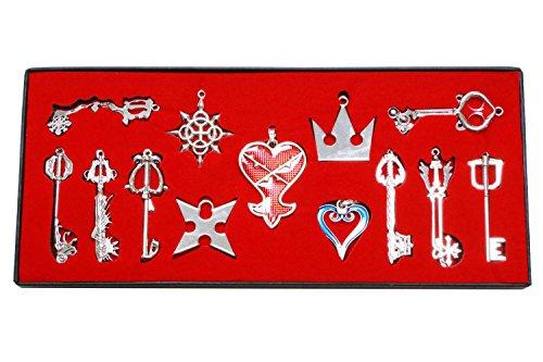 Kingdom Hearts sora Keyblade Llavero Collar Collection Box 2016