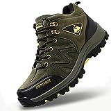 [RDGO] メンズ ハイキングシューズ トレッキングブーツ 登山靴 アウトドアシューズ 防滑 ローカット ウォーキングシューズ 防水 大きいサイズ 幅広 スニーカー