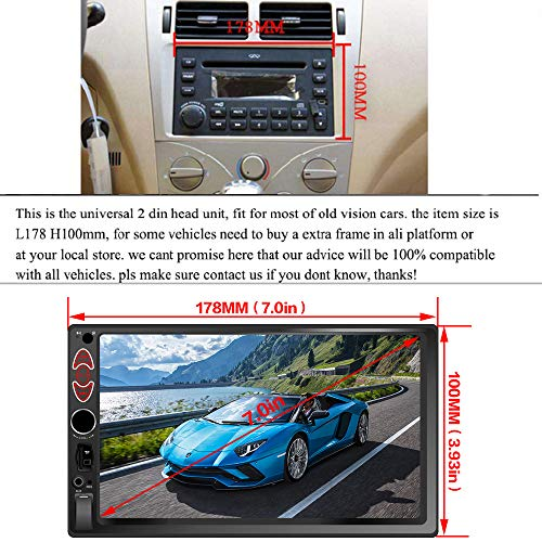 SARCCH 7-inch Car Stereo