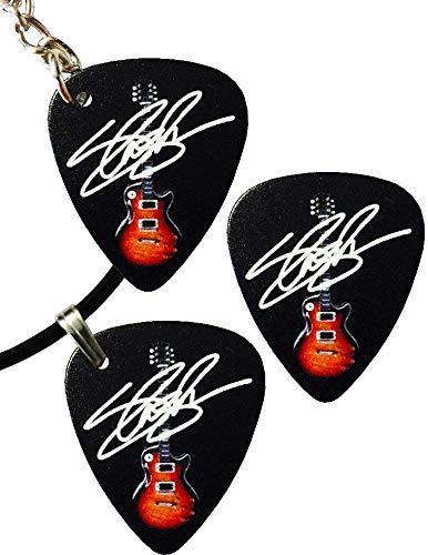 Axman Slash Guns N' Roses): Les Paul Gitarre und Schlüsselanhänger Plektrum (1 Anhänger + 1 Schlüsselring + 1 Plektrum)