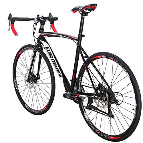 Eurobike Road Bike XC550 Bike 21Speed Gears Road Bicycle Dual Disc Brake Bicycle