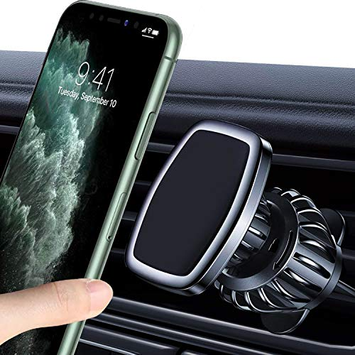 WeGuard Car Phone Holder Mount, [2020 Latest] Strong Magnetic Car Phone Mount Car Vent Universal Car Cell Phone Holder Compatible with iPhone 11/11 Pro Max/XR/Xs/XS Max /8/7/6,Pixel and More