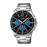 Casio Analog Black Dial Men's Watch-MTP-1374HD-2AVIF (A1646)
