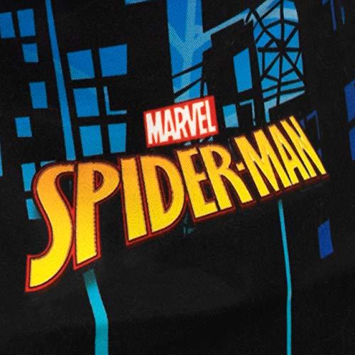 Marvel Costume da Bagno per Ragazzi a Due Pezzi Spiderman Multicolore 6-7 Anni