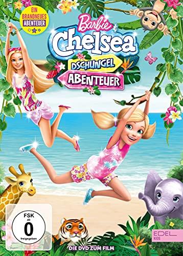 Barbie & Chelsea - Dschungel-Abenteuer - Die DVD zum Film (Limited Edition im hochwertigen Glitzerschuber)