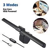 Glückluz Screenbar E-Reading Lamp, USB Powered Computer Monitor Lamp Eye Care Light Adjustable