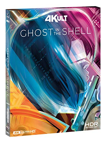 """Ghost In The Shell """"4Kult"""" (4K+Br) + Ghost In The Shell 2.0 Br Digistack Ltd + C"""
