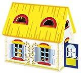 Goki 51742 - Puppenhaus Cottage mit Zubehör