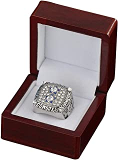 Twcuy 1977-1978 Dallas Cowboys Football Super Bowl XII Championship Replica Ring for Fans Men's Gift