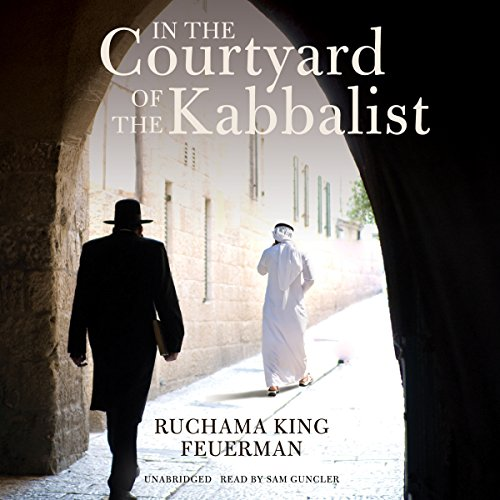 In the Courtyard of the Kabbalist audiobook cover art