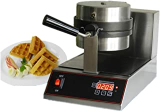 Commercial Double Belgian Waffle Maker, Professional-Style, Easily Wipes, Care Cleaning, Durability Strong, Safe-to-Touch ...