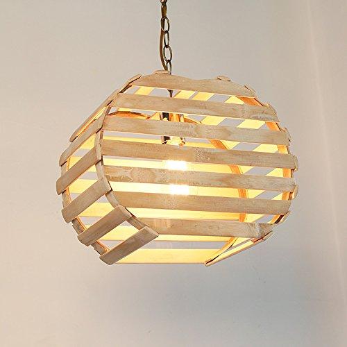 Suspensions Salle à manger bambou lustre/lumière/ambiance/original Studio/cafe bar bambou éclairage de jardin, warm yellow