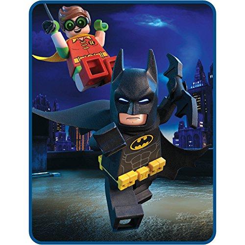 LEGO Batman Movie Kids Plush Throw Blanket
