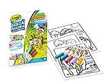 Crayola - Color Wonder, Coloring Set con 18 páginas para colorear y 5 rotuladores sin manchas, diseño de amigos de la granja, multicolor, 75-7128
