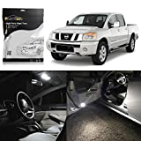 Partsam LED Interior Package Light Kits Replacement 10 Pieces/White
