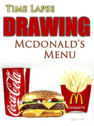 Clip: Time Lapse Drawing Mcdonald's Menu