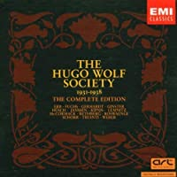 The Hugo Wolf Society - The Complete Edition 1931-1938