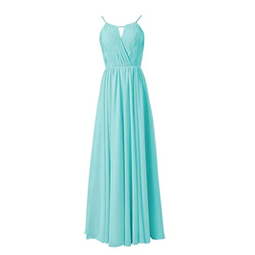 c1488951dfb5 DaisyFormals Full Length Evening Dress Scoop Neckline Bridesmaid Dress (BM10826L)