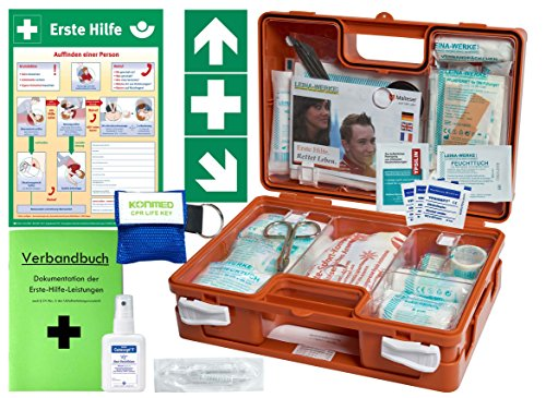 Erste-Hilfe-Koffer M1 -Komplettpaket - mit