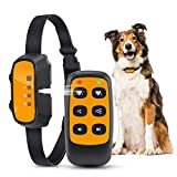 Anti Bark Dog Collar, Stop Barking Collar With Remote Automatic Citronella Spray Dog Barking Deterrent Device, Rechargeable Bark Stopper Anti-Barking Dog Training Collar for Small Medium Large Dogs
