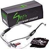Cougar Bifocal Safety Glasses (Magnifier: 2.50, Frame Color: Silver)