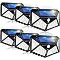 6-Pack Merece 100 LED Wireless Motion Sensor Solar Security Lights