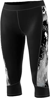 adidas Women's Training Techfit Print Capri Tights