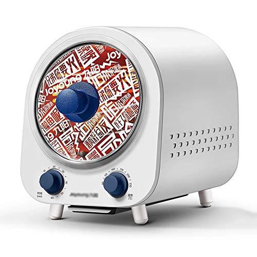 KELITE Mini Horno Multifuncional HOGAR PEQUEÑO Horno DE Alimentos DE 4.7L 360 ° Calefacción giratoria Cocina de Cocina Cocina Grill Fácil de Limpiar 220V