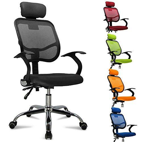 FEMOR Bandscheiben ergonomisches Drehstuhl Bürostuhl Chefsessel sitzkomfort Bürodrehstuhl...