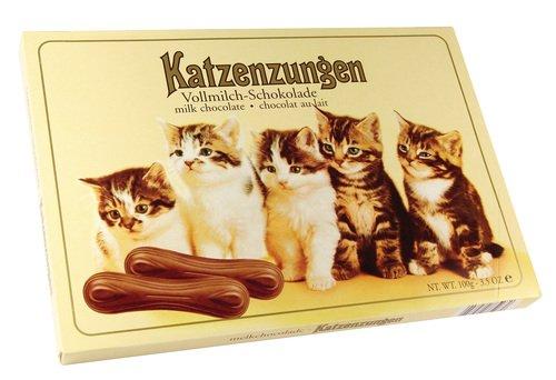 Sarotti Katzenzungen Vollmilch, 10er Pack (10 x 100 g Packung)