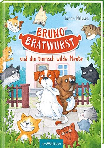Buchseite und Rezensionen zu 'Bruno Bratwurst und die tierisch wilde Meute' von Janne Nilsson