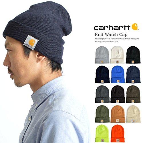 (カーハート)Carharrt(25310121)ニット帽 メンズ レディース black-f