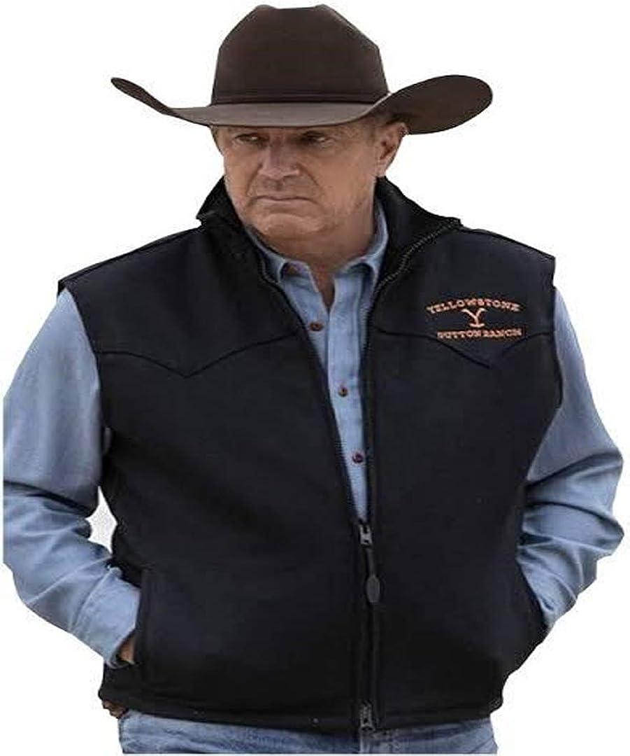 Men's Bomber Cow Boy Rip Wheeler Cotton Vest