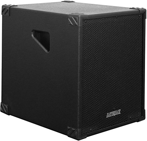 Earthquake Sound DJ-Quake 12-inch Subwoofer with Built-in Amplifier, USB/SD, and Bluetooth